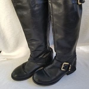 Steve Madden, Barton, Leather Riding Boots